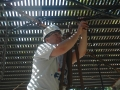 John N8CD pulling cable