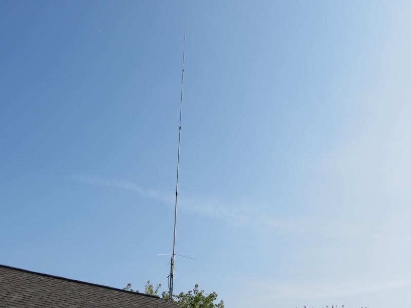 Club vhf-uhf antenna
