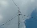 Wire antenna support