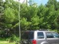 Ken / KA8OAD hitch receiver 10m antenna