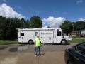 Wayne County EMA van