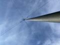 Cool skyshot of N8JLM's antenna
