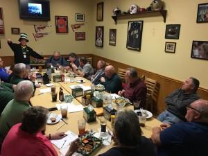March 2016 SARA Meeting at Beef O'Brady's