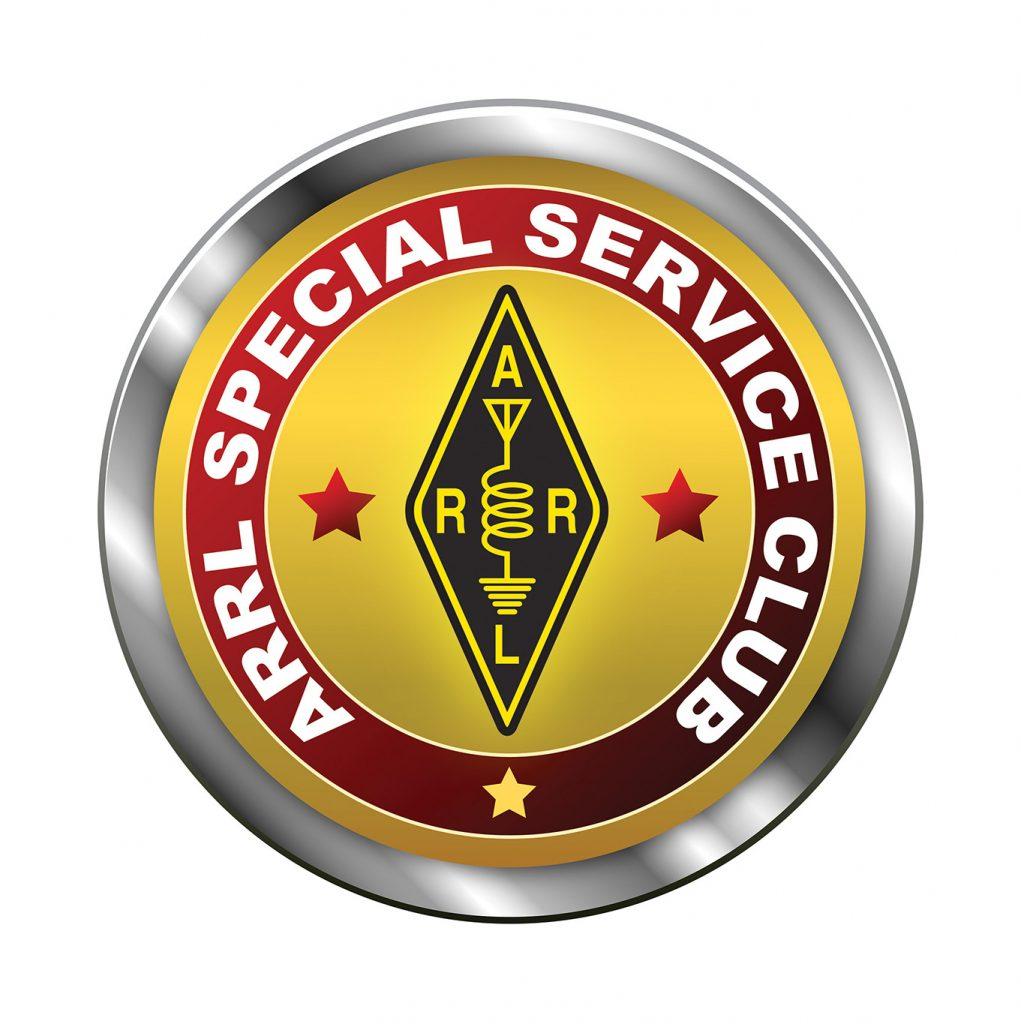 ARRL Special Service Club Badge